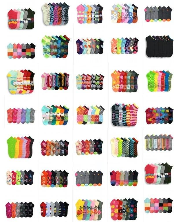 Wholesale Mixed Assorted Designs Socks