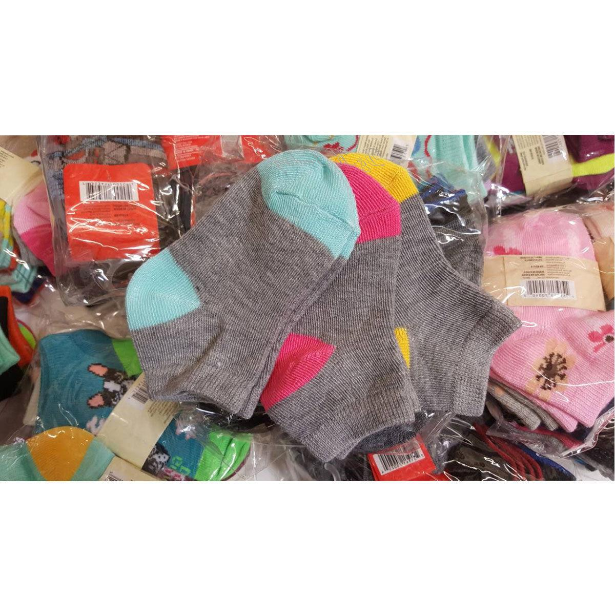 Wholesale Socks Women's Girl 6-8 9-11 Mixed Assorted Colors