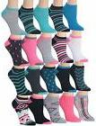 women s 20 pairs colorful patterned low