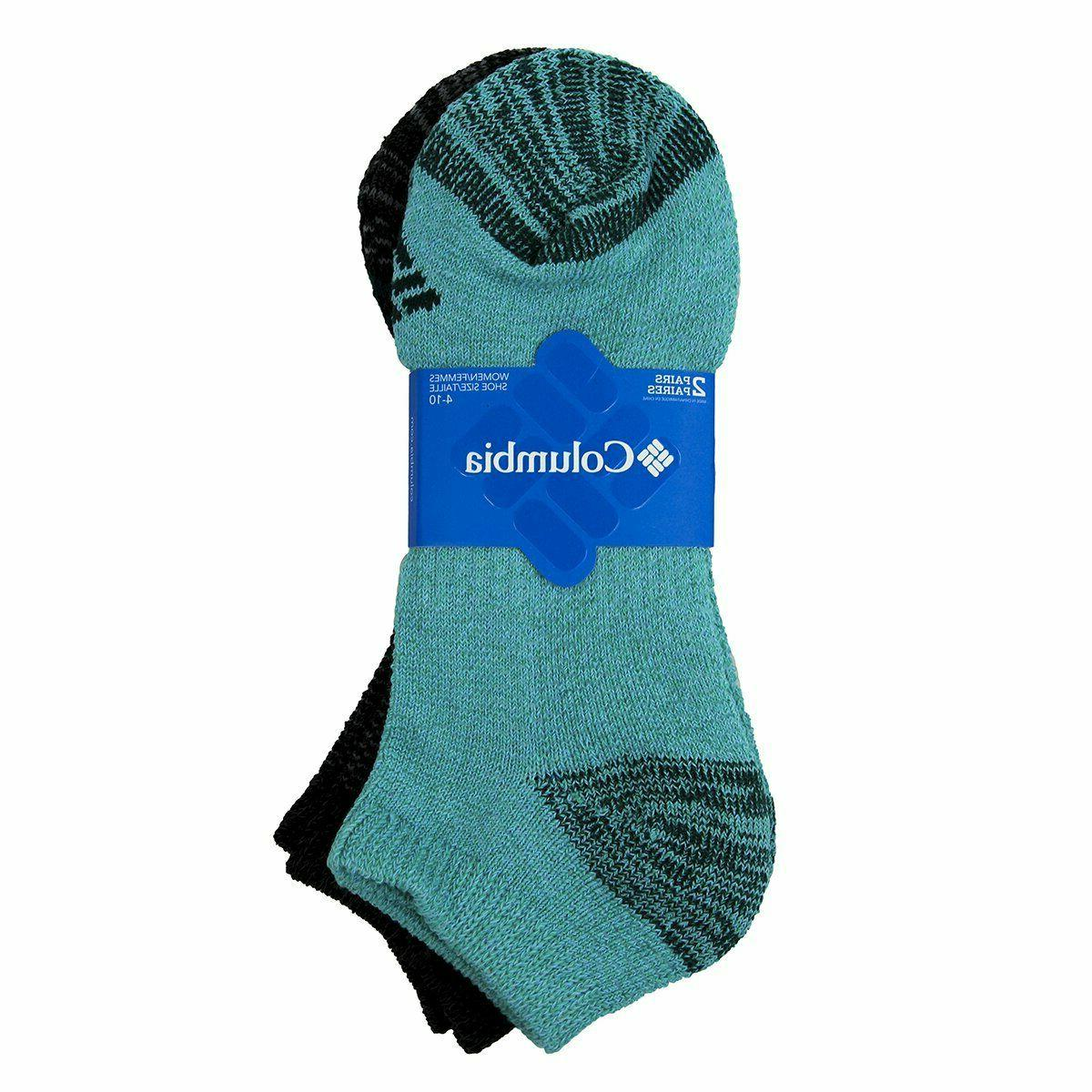 Columbia Women's 6 No Show Athletic Sport Socks