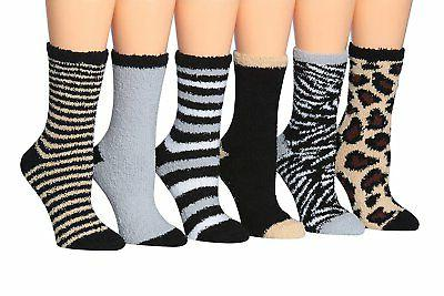 women s 6 pairs patterned and solid
