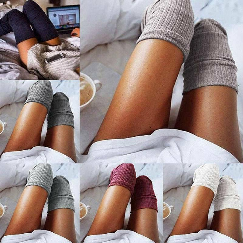 Cable Over knee Socks