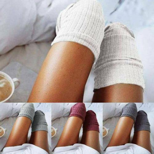 women soft winter warm cable knit over