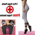 Women YOGA Workout Running Tights Gym Sport Pants Tummy Cont
