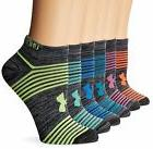 Under Armour Womens Essential Twist 2.0 No Show Socks 6 Pack