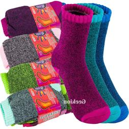 Lot 3-12 Pairs Womens Winter Thermal Heated Heavy Duty Warm