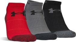 Under Armour Mens Elevated Performance No Show 3 Pack Marl/A