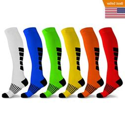 Mid-Calf Compression Socks for Men and Women