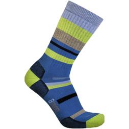 Point6 Mixed Stripe Medium Crew Hiking Socks - Women's Imper