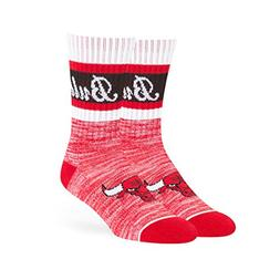 OTS NBA Chicago Bulls Women's Jensen Sport Sock, Red, Medium