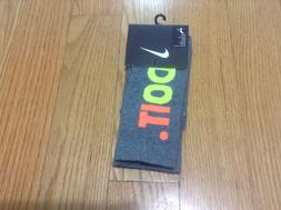 New Nike Crew Socks One Pair Size M Shoes Size: men's 6-8 Wo