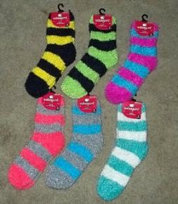 NEW Women's Feather Soft Fuzzy Fluffy Socks  6 Colors NEW