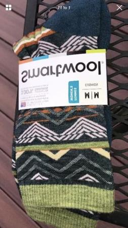 New SmartWool Women's Ripple Creek Crew Socks Size Med SW010