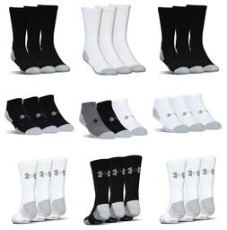 Under Armour No Show Mens Womens Socks Crew Ankle Low Golf S