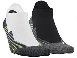 Under Armour No Show Socks Mens Women Large Ankle Tab Runnin