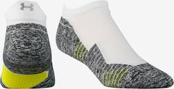 NWT Under Armour Charged Cushion No Show Tab Socks Running M