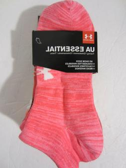 NWT Women's Under Armour No Show Socks 6 Pairs Size 6-9 Medi