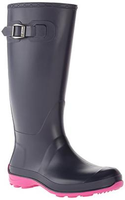 Kamik Women's Olivia Rain Boot, Navy, 9 M US