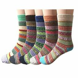 Pack of 5 Womens Vintage Style Cotton, 01 Mixed Color, Size