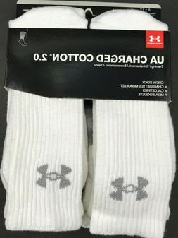 Under Armour Performance Crew Socks 3 or 6 Pair Men's and Wo