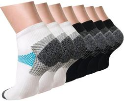 ACTINPUT Plantar Fasciitis Compression Sock For Men&Women,Co