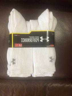SALE  3 or 6 Pair Under Armour Performance HeatGear Crew Soc