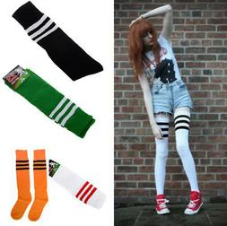 Sexy Women Long Stockings Athletic Sport Soccer Thigh High O