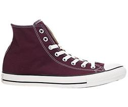 Converse Men's Shoes All Star Chuck Taylor Hi Burgundy Red F