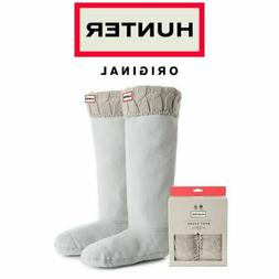 Women's Hunter Original Tall Cable Knit Cuff Welly Boot Sock
