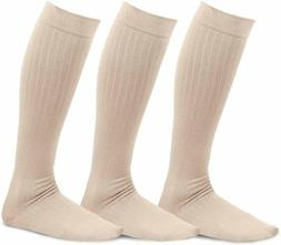 TeeHee Viscose from Bamboo Compression Knee High Socks with