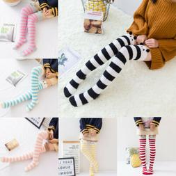 US Women 3D Cartoon Animals Thigh Stockings Over Knee High C