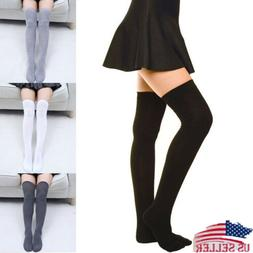 usa girls ladies warm thigh high over