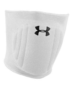 Under Armour Unisex Armour Volleyball Knee Pad, White/Black,