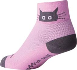 SockGuy Whiskers 2IN Cycling Sock - Women's, S-M