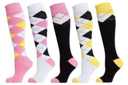 Socks n Socks-Women 5-Pairs Luxury Cotton Colorful Cool Fun
