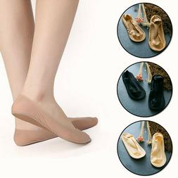 Women Arch Support Padded Cushion NO SHOW Liner Socks Low Cu