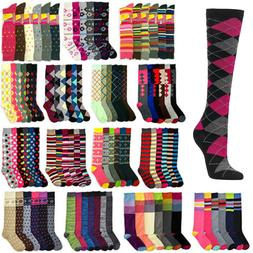 women knee high multi color winter boot