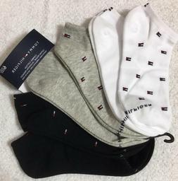 Tommy Hilfiger Women's  6-Pair Low Cut Socks  6-9.5  White-G