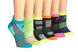 Ronnox Mens 6-Pairs Low Cut Running /& Athletic Performance Tab Socks