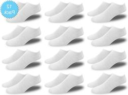 Women's All White Thin and Lightweight Low Cut Ankle Socks