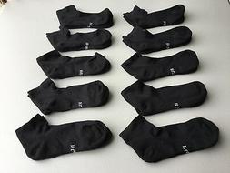 Women's Hue Cushioned Arch Support Ankle Socks Medium 10 Pai