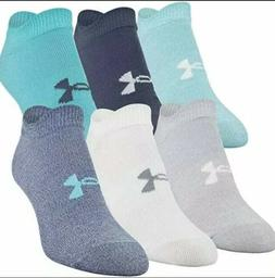 Under Armour Essential Lightweight No Show Socks 6-pr – Wo