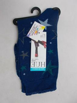 Hue Women's Femme Top Socks Prussian Blue One Size