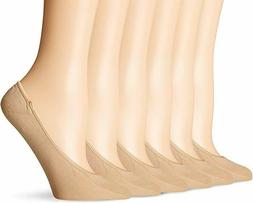 PEDS Women's Microfiber Low Liner 6 Pairs Choose Sizes, Styl