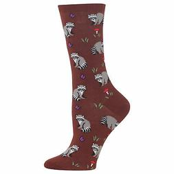 Hot Sox Women's Raccoon Socks