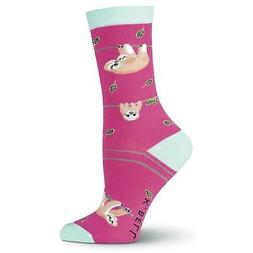 Women's Sloth Crew Socks Size 9-11