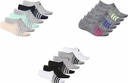 adidas Women's Superlite Super No Show Socks, 6 Pairs, Assor