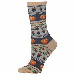 Hot Sox Women's Thanksgiving Fair Isle Socks