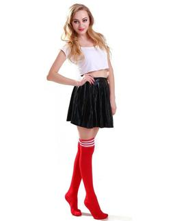 Women's Thigh High Over-Knee Athletic Soccer Rugby Sports Fa