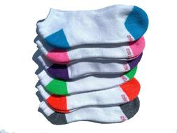 Hanes Women's  No-Show Socks 6-Pack
